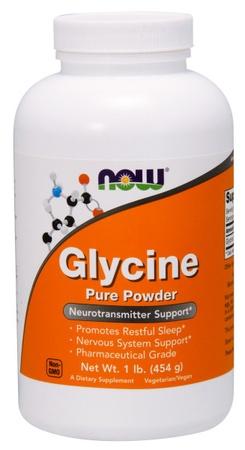 Now Foods L-Glycine Free Form - 1 Lb