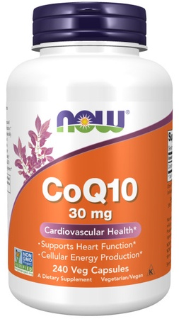 Now Foods CoQ10 30 Mg - 240 VCap
