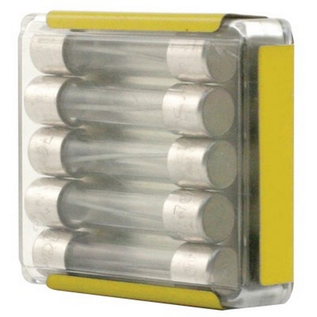 10 AMP Slow Blow Fuse 5 Pack
