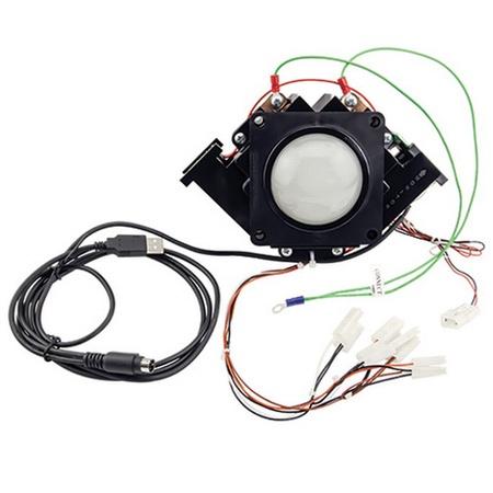 "2¼"" USB/PS2 Trackball Unit White Ball Atari/Happ"