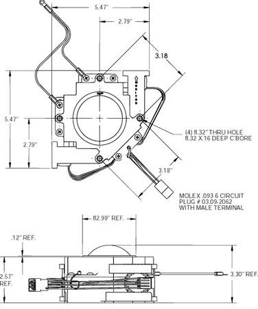 "3"" USB/PS2 Trackball Unit White Atari/Happ"