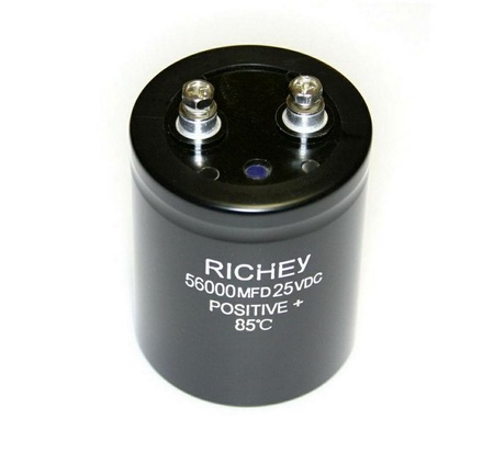 56,000µf 25v Midway MCR Suitcase Capacitor