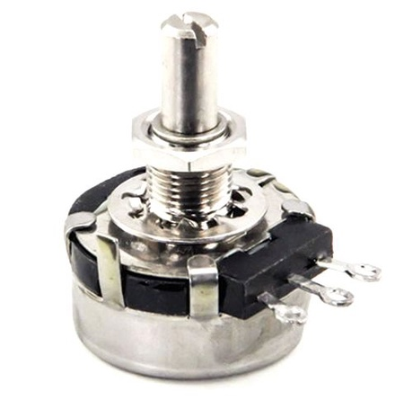 """5K Potentiometer with 7/8"""" Shaft"""
