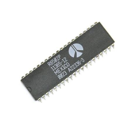 6502A - 1.5 Mhz Microprocessor