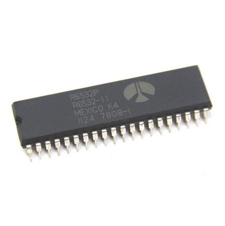 6532 Microprocessor Processor Ram, I/O Timer (R.I.O.T.)