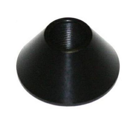 """Atari Tall Black """"Volcano"""" Button Cone Bezel"""