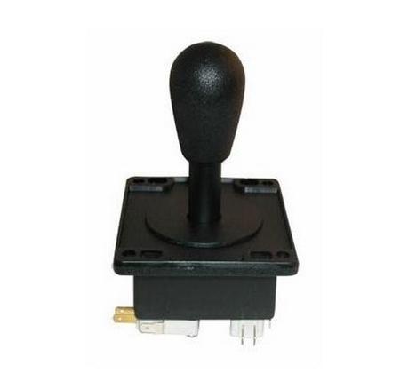 Black 4 & 8-Way Super Joystick