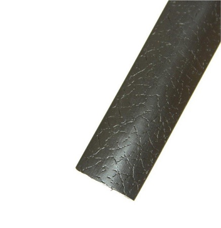 "Black Leather 3/4"" T-Molding 250'"