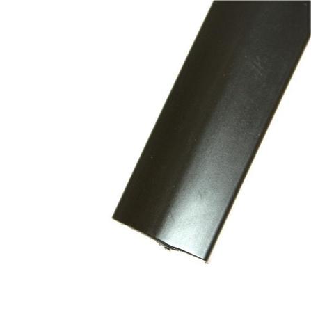 "Black Offset 13/16"" T-Molding 250'"