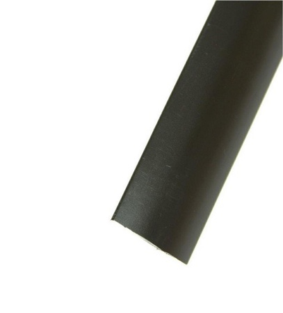 "Black Smooth 3/4"" T-Molding 250'"