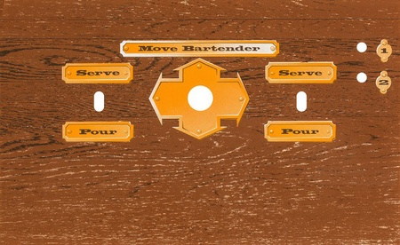 Bud Tapper Upright Control Panel Overlay