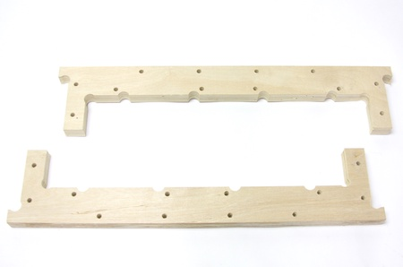Cocktail Cabinet LCD Monitor Mounting Brackets
