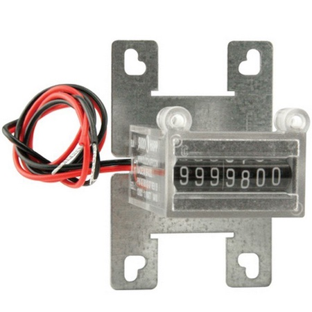 Coin Meter 7-Digit, 24v DC with Bracket for Nintendo Games