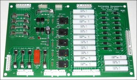Data East Playfield Power Board (PPB)