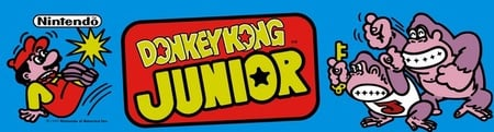 Donkey Kong Jr. Marquee