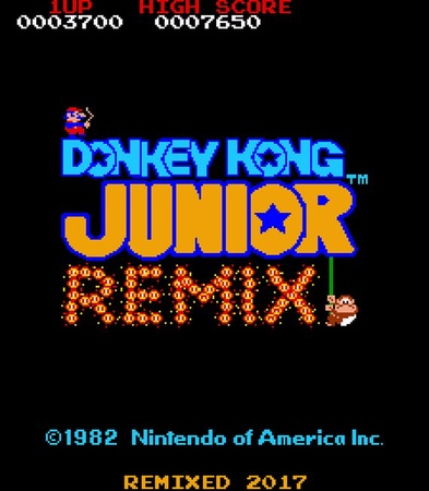 Donkey Kong Jr. Remix Multigame Kit