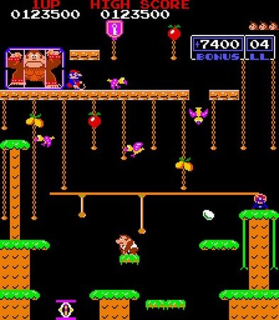 Donkey Kong Jr. Remix Multigame Kit