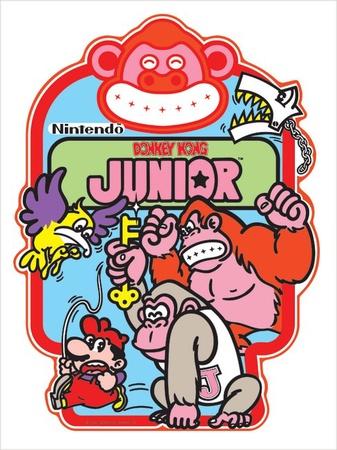 Donkey Kong Jr. Side Art Set
