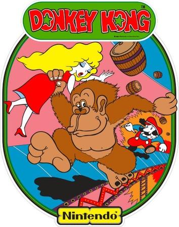 Donkey Kong Side Art Set