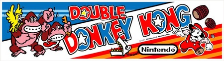 Double Donkey Kong Marquee
