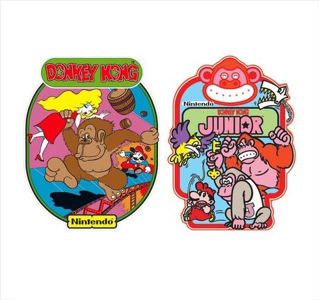 Double Donkey Kong Side Art Set