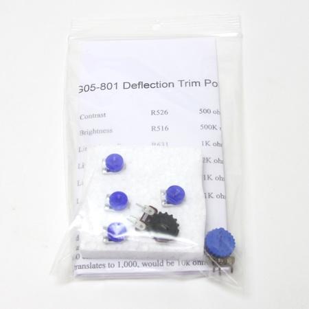 Electrohome G05-801 Potentiometer Kit