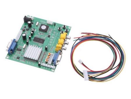 Gonbes CGA/EGA/YUY RGB to VGA Video Converter