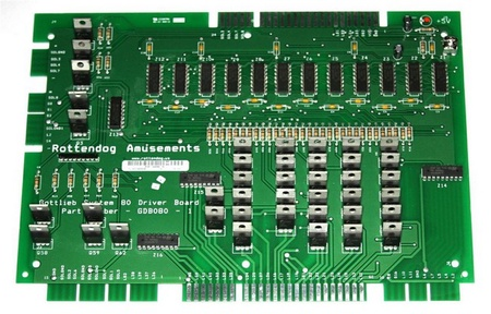 Gottlieb System 80 Driver PCB