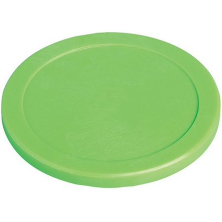 "Green 2.5"" Air Hockey Puck"