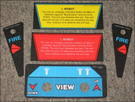 I, Robot Instruction Card Set