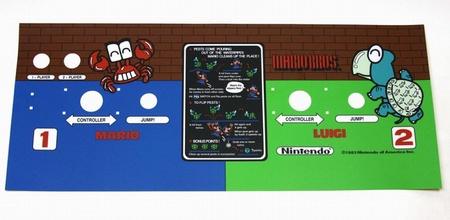 Mario Bros. Control Panel Overlay