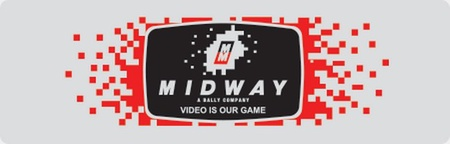 "Midway Logo Plate #1 ""Video is our game"""