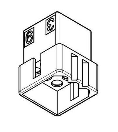 "Molex 9 Pin, .093"" Female Plug Housing"