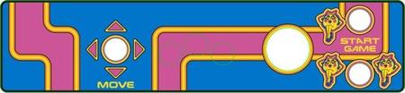Ms Pac-Man Multicade Upright JS/TB CPO