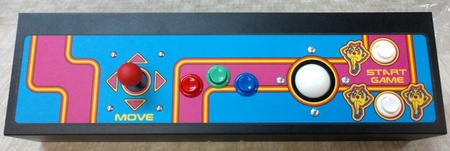 Ms. Pac-Man Multicade Upright Panel Complete - Trackball