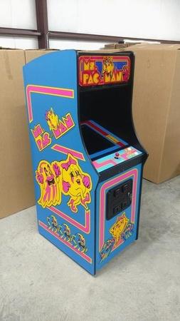 Ms. Pac-Man Upright Side/Front Art Set