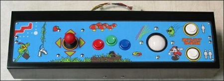 Multicade Upright Panel Complete - Trackball