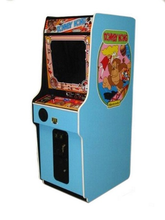 New Donkey Kong Upright