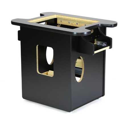 New Midway Black Cocktail Cabinet