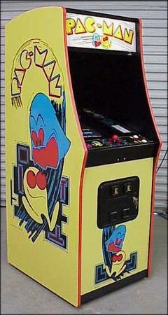 Pac-Man Upright Side/Front Art Set