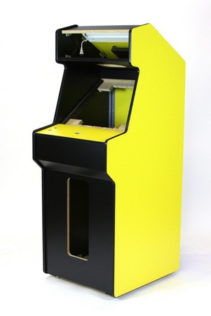 New Yellow Q*bert Upright Cabinet