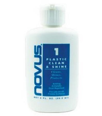 Novus #1 Plastic Clean & Shine 2 oz.