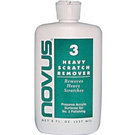 Novus #3 Heavy Scratch Remover 8 oz.