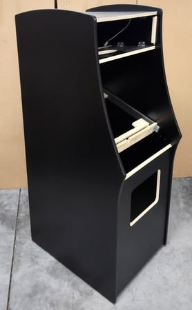 New Midway Black Galaxian/Pac-Man Upright Cabinet