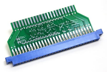 Pengo Cabinet to JAMMA PCB Adapter