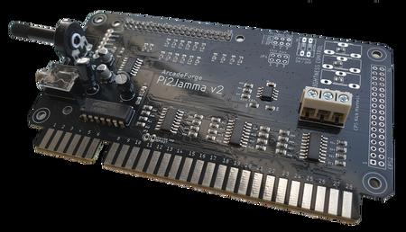 Raspberry Pi v2 PRO JAMMA Interface Adapter