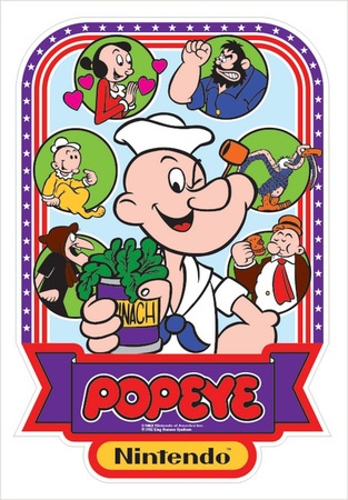 Popeye Side Art Set