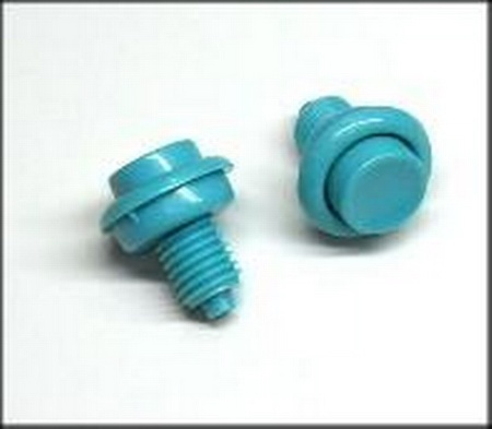 Push Button Leaf Switch Joust/Bubbles Blue