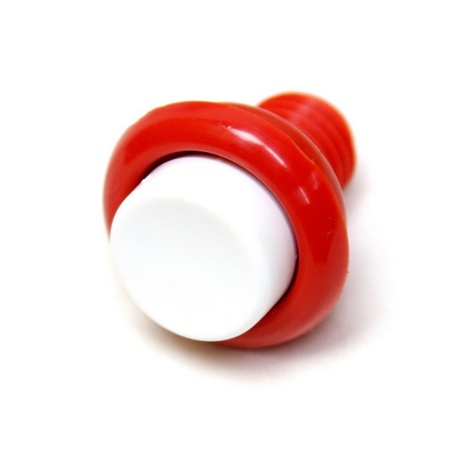 Push Button Leaf Switch Red/White