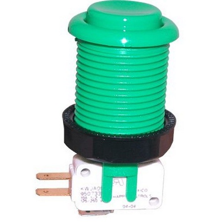 Push Button Micro Switch Green